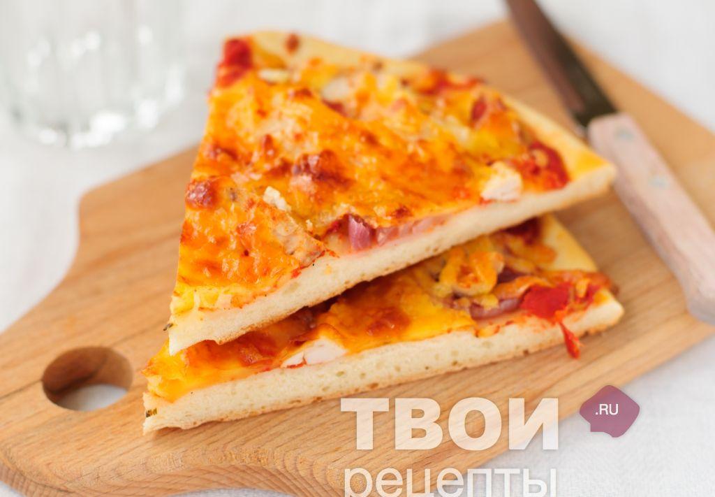 Пицца с ананасами рецепт в домашних условиях в духовке