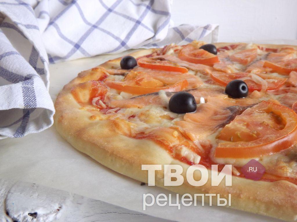 пицца с семгой слабосоленой рецепт с фото
