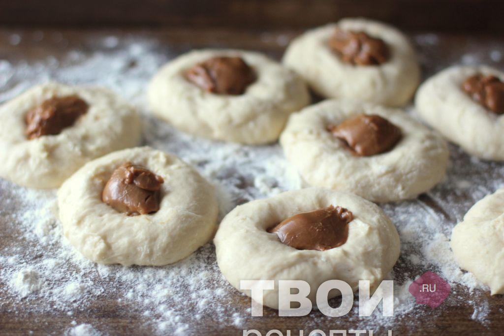 Пончики со сгущенкой в домашних условиях