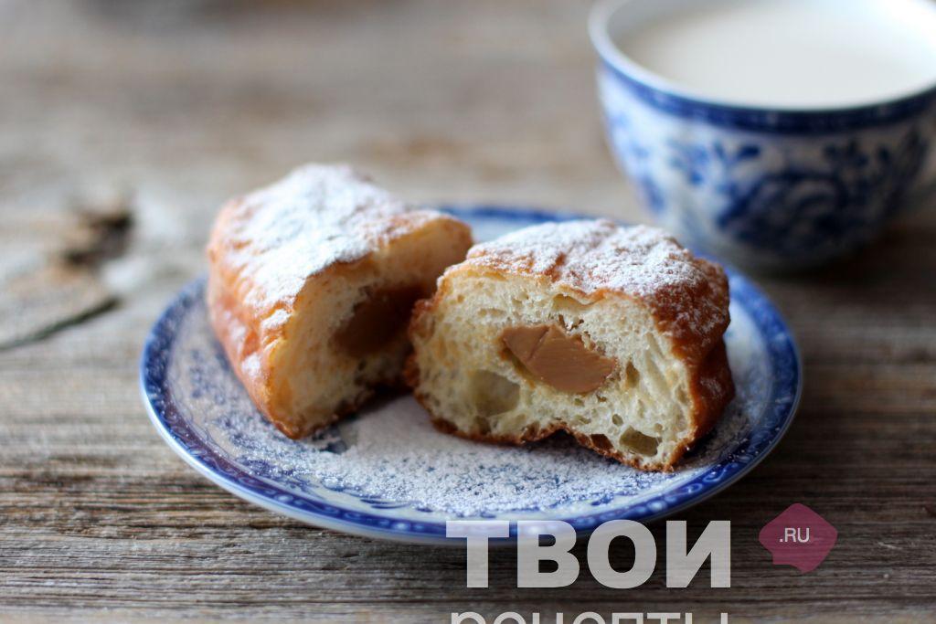 Пончики на сгущенке рецепт фото