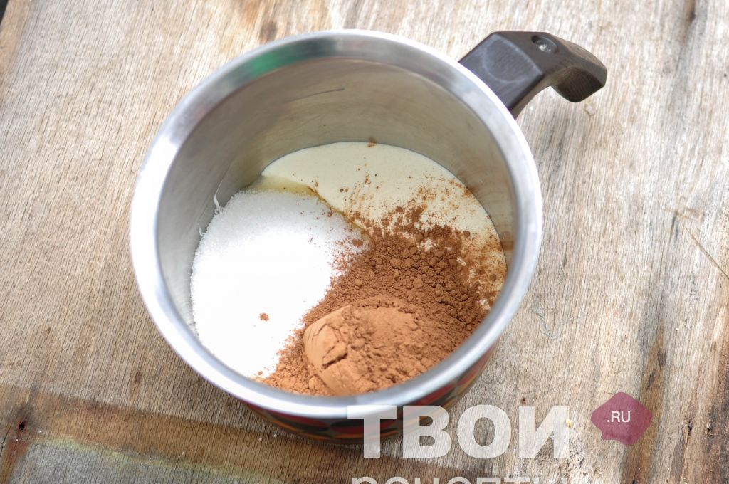 Как из какао порошка сделать крем