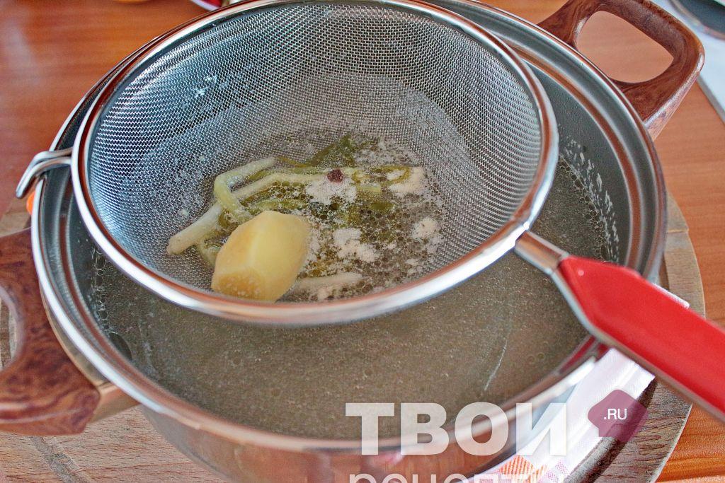 Как приготовить куриный бульон пошаговый рецепт