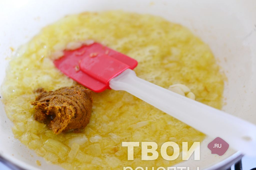 Рис на сковороде с фото пошагово