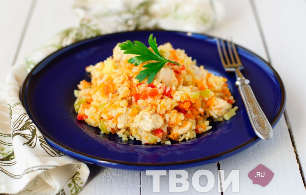 Рецепты из риса с курицей в мультиварке