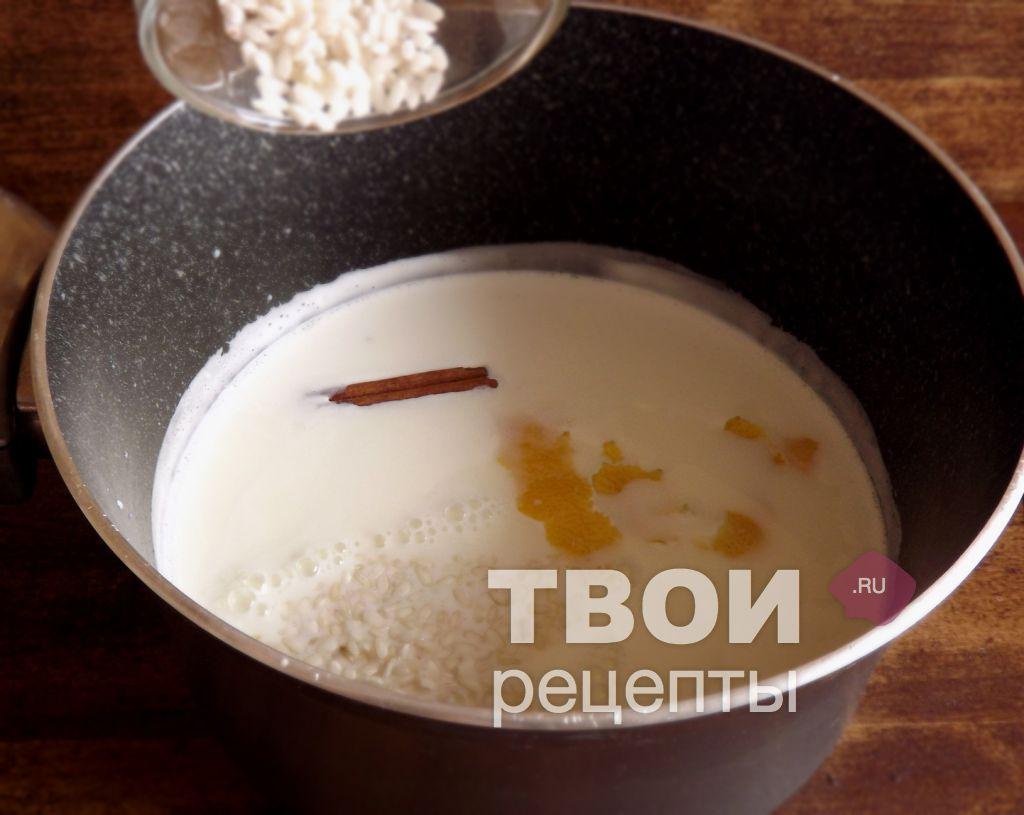 Рисовый пудинг без молока рецепт с пошагово