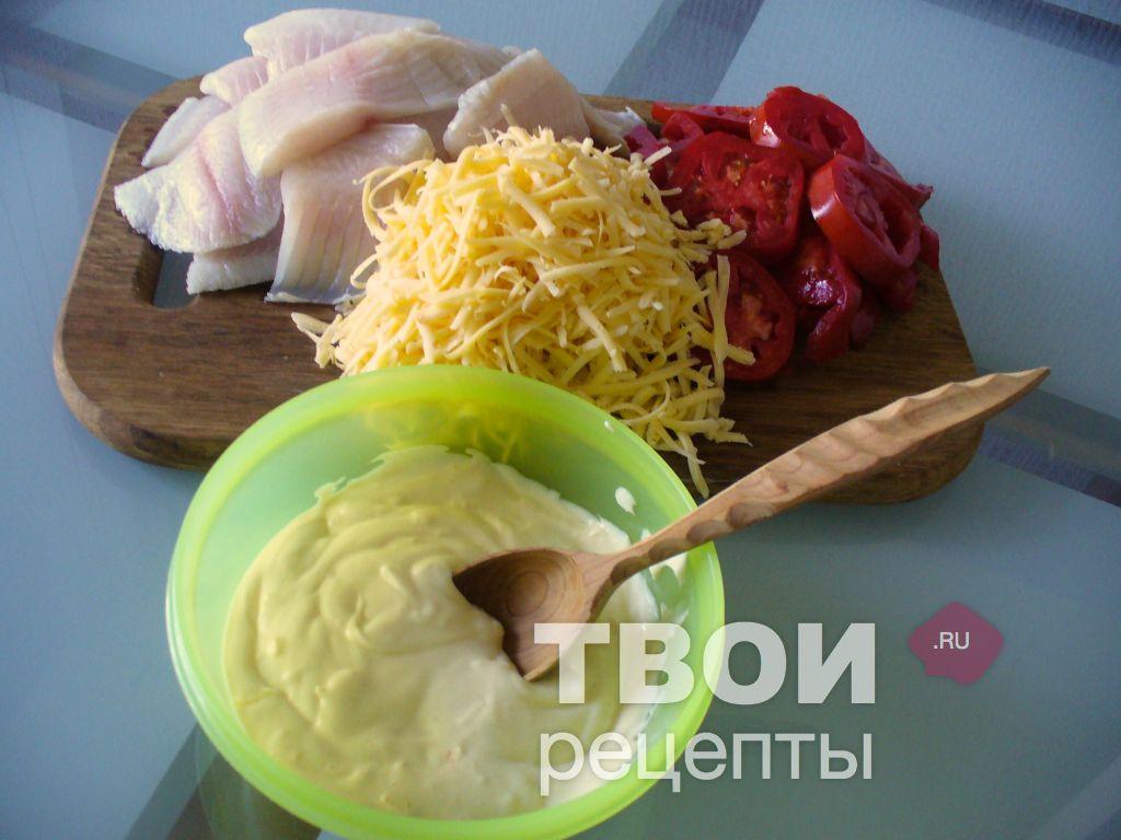 рецепт из рыбы в духовке кусочками