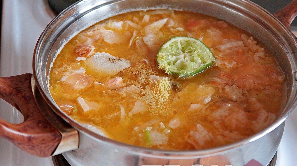 Солянка из семги рецепт с фото