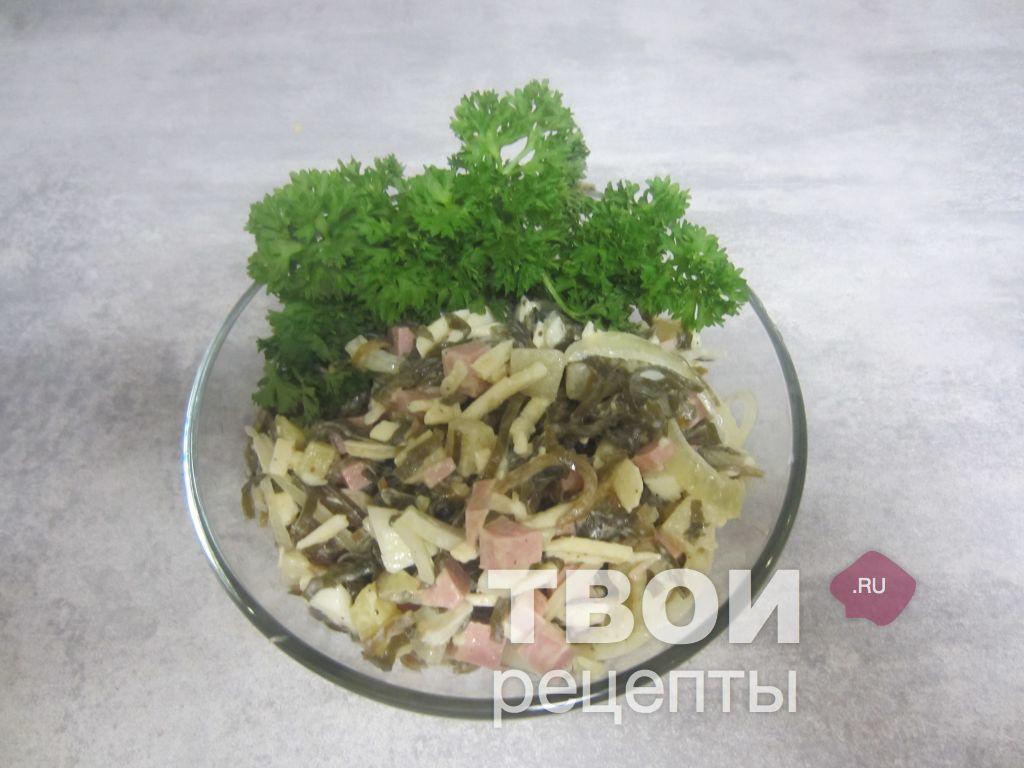 салат из морской капусты классический рецепт