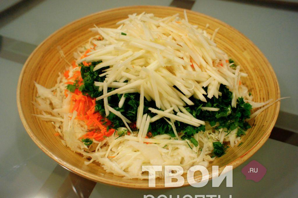 рецепт заправки салата из свежей капусты