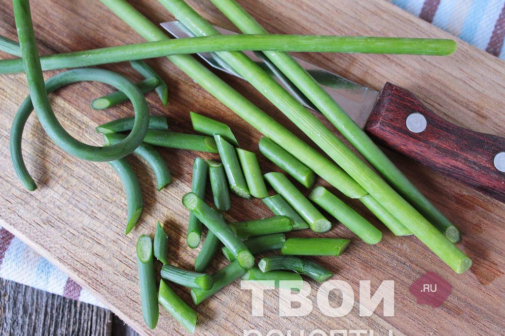 лесная поляна салат рецепт с фото с шампиньонами