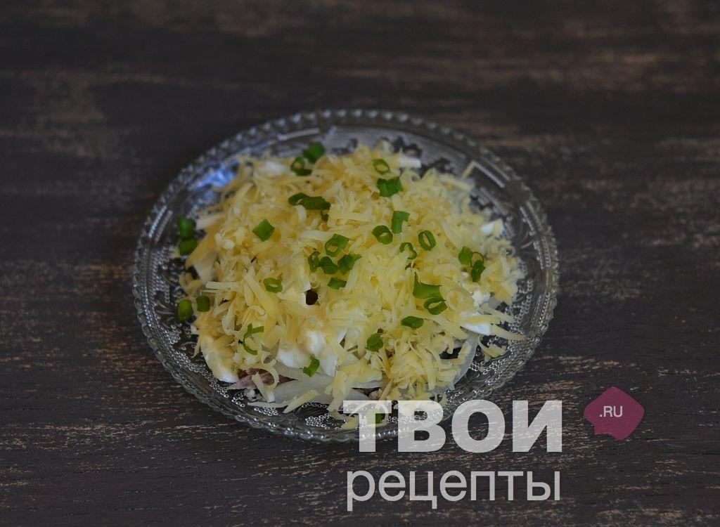 Салат каприз с колбасой рецепт с