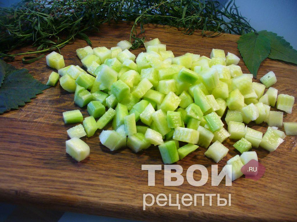 рецепт салата с яйцом картофелем огурцы