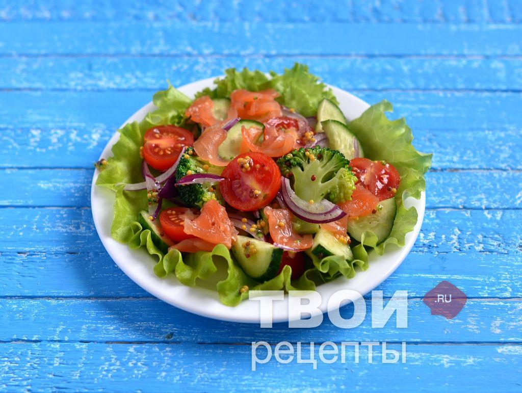 салат испанский с огурцом рецепт