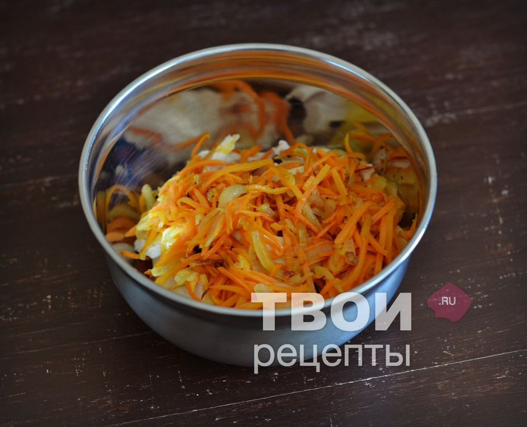 салат рецепт обжарить морковь