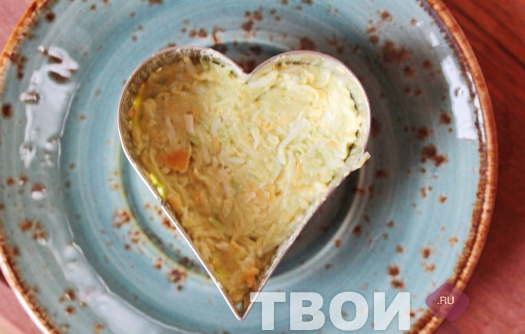 салат стрелы амура рецепт фото