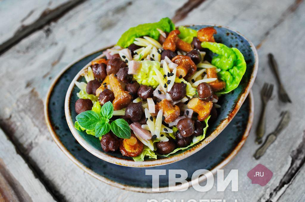 рецепт салат ночь с пошаговым фото