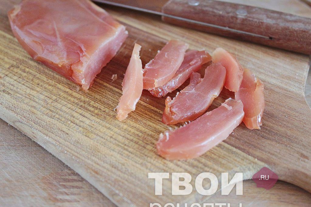 Салат цезарь с курицей, рецепт с фото