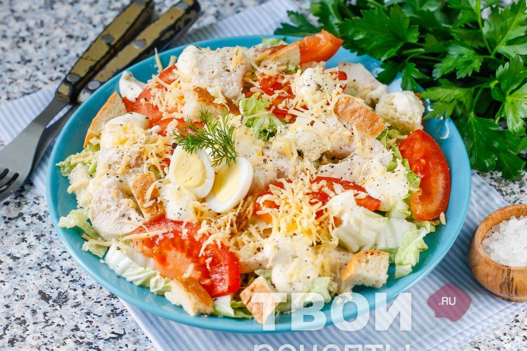Пекинская капуста салаты рецепты простые