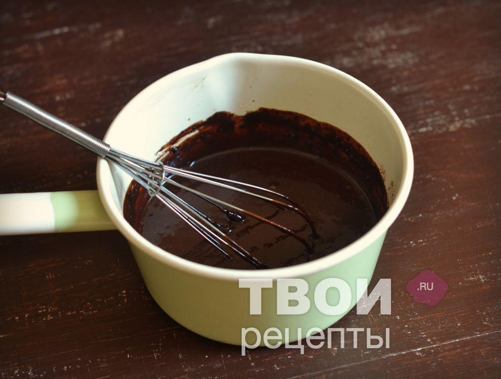 Как сварить шоколадную глазурь из какао