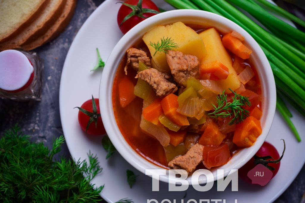 Шурпа с говядиной рецепт классический пошаговый рецепт с