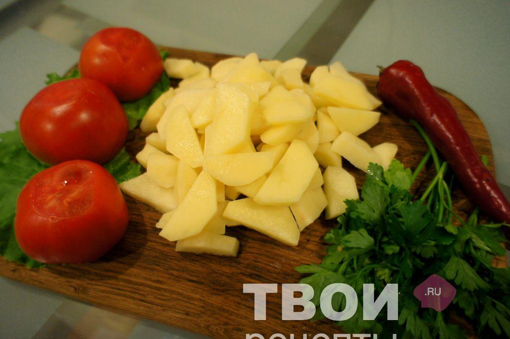 Как тушить куриную голень на сковороде