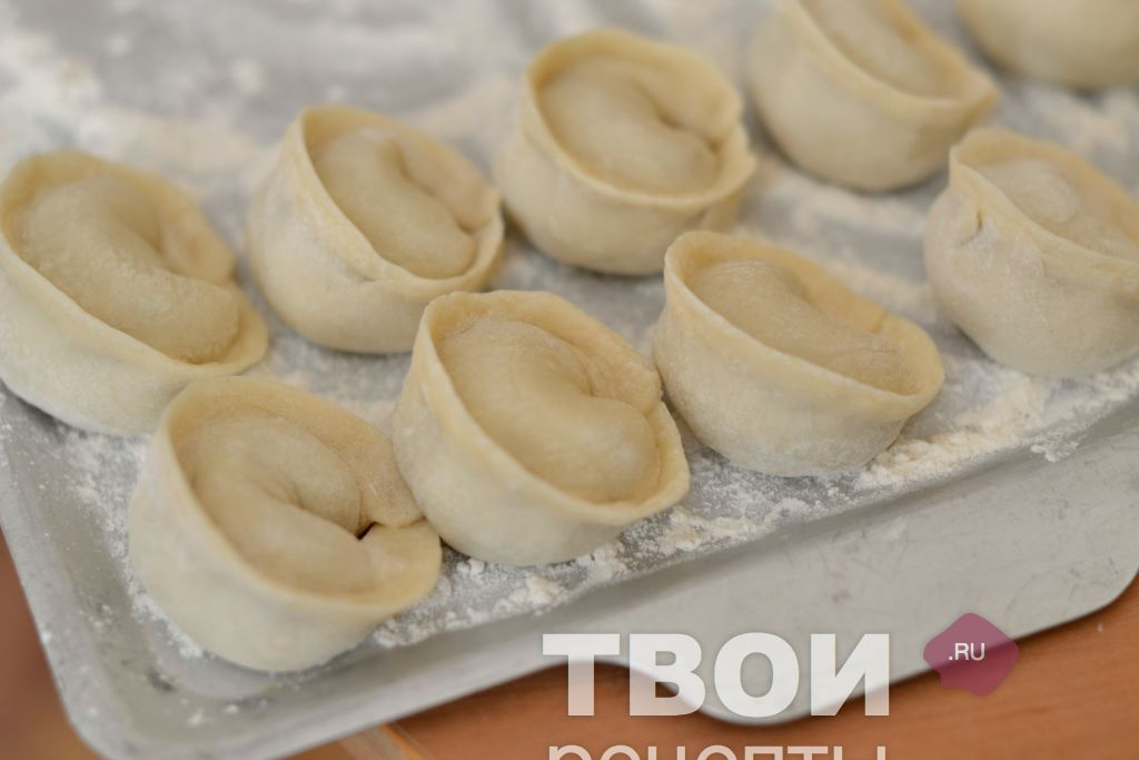 Сибирские пельмени рецепт пошаговый