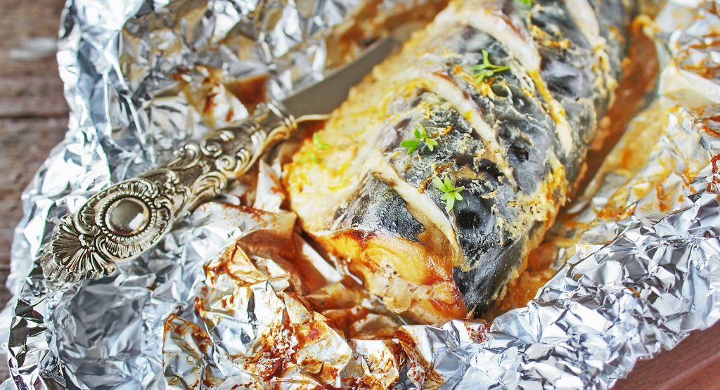 Приготовление скумбрии в духовке в фольге пошаговый рецепт челябинске онлаин магазины авто тюнинг