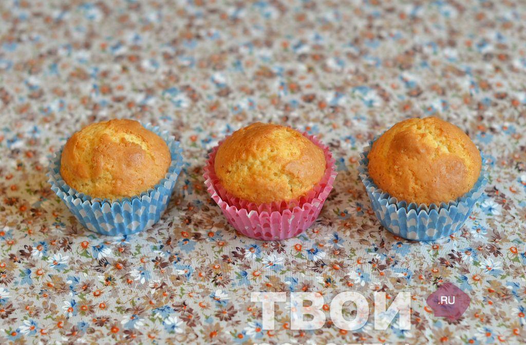 кексы без сливочного масла рецепты фото