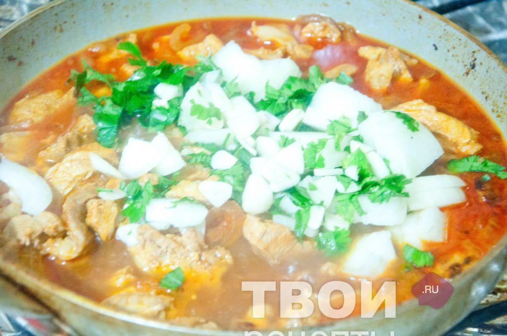 Простой рецепт супа с картошкой и макаронами