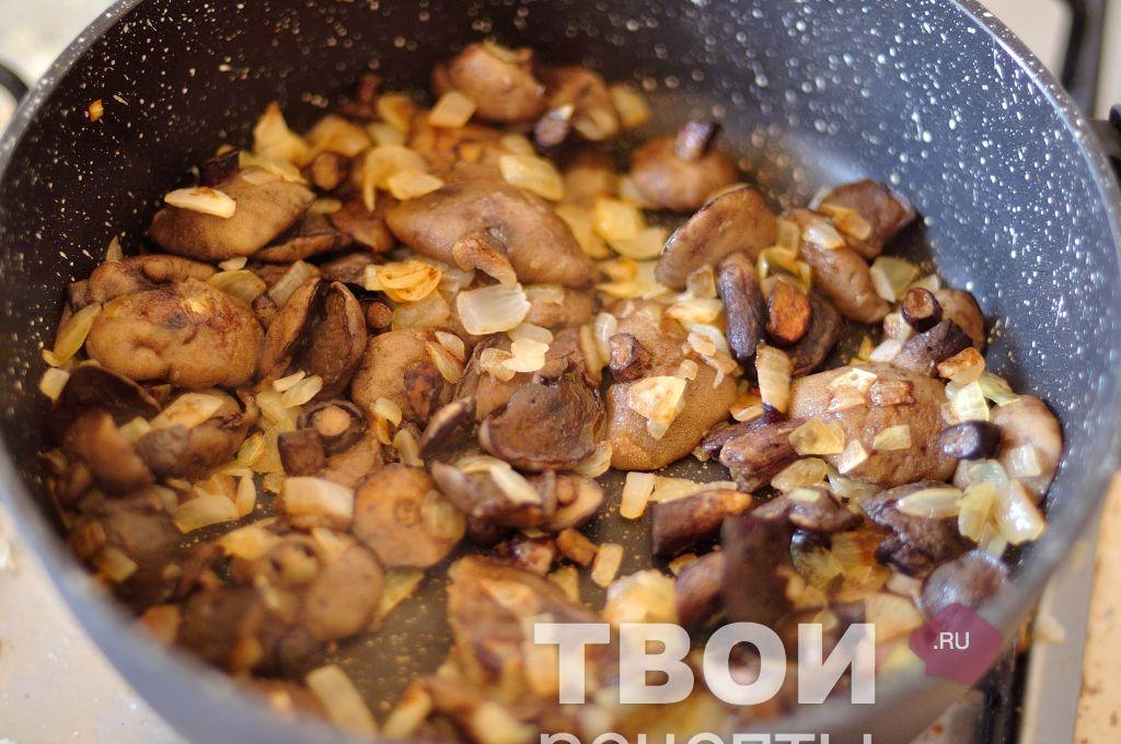 Грибы солянка рецепт с пошагово