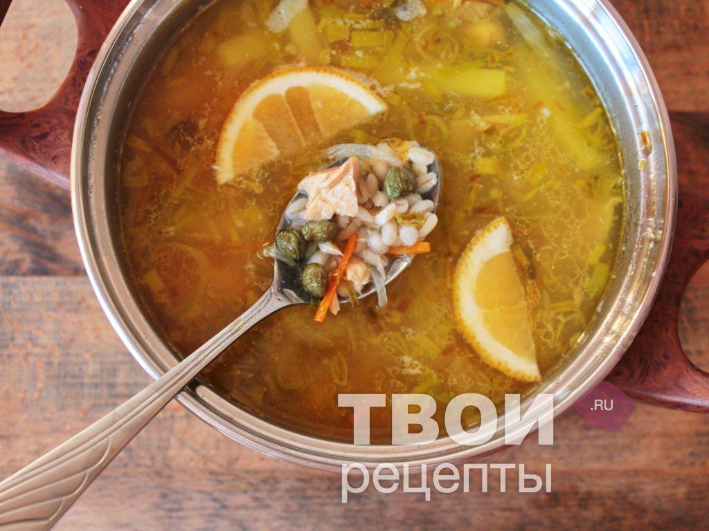 суп с консервой рецепт с фото