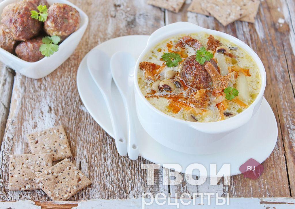 Суп из замороженных лисичек рецепты с фото