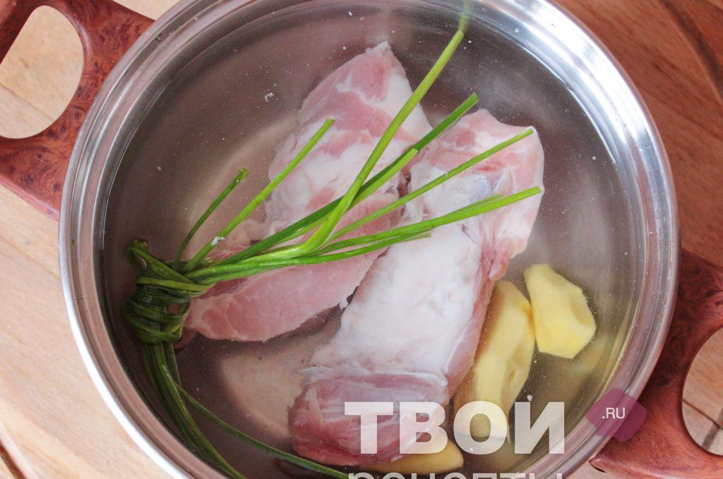 Как варить свиные ребра на бульон