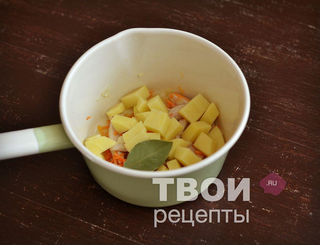 Рецепт: Простой куриный суп с вермишелью - все рецепты России