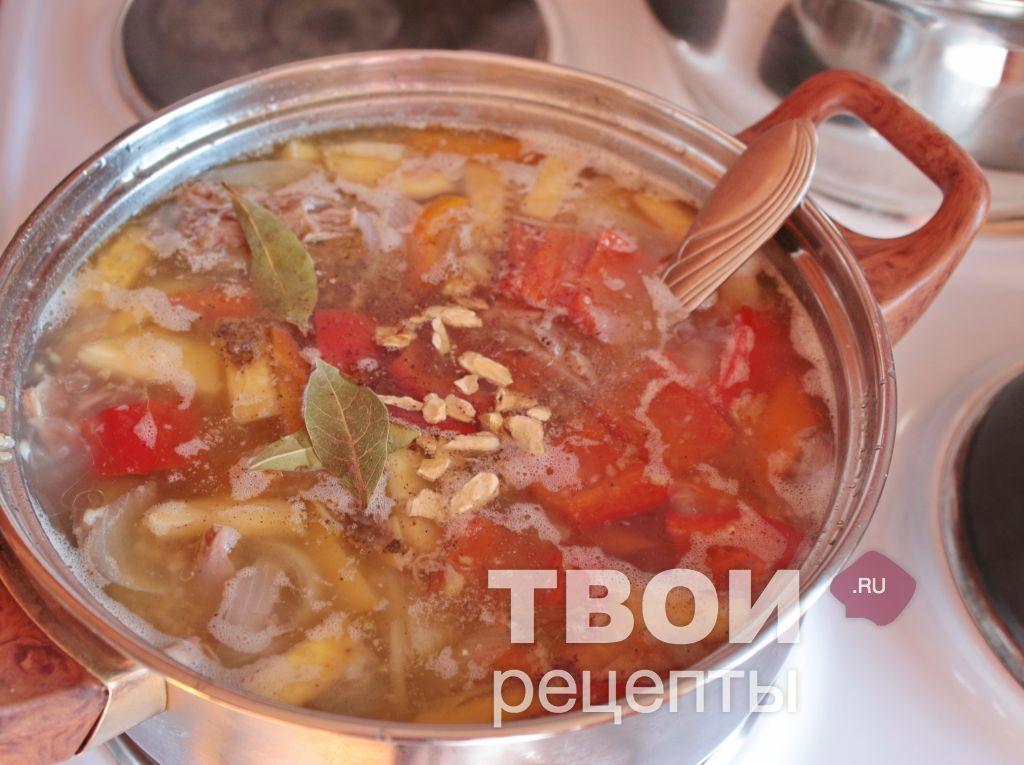 Варианты приготовления полевого супа