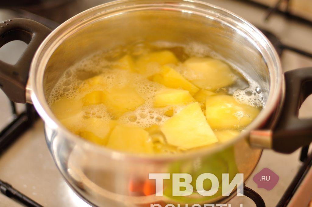 как делать суп пюре с фото
