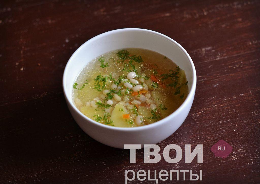 Овощи с фасолью рецепт