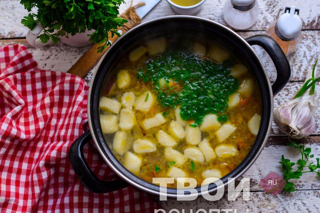 Как сделать клецки для супа из 738
