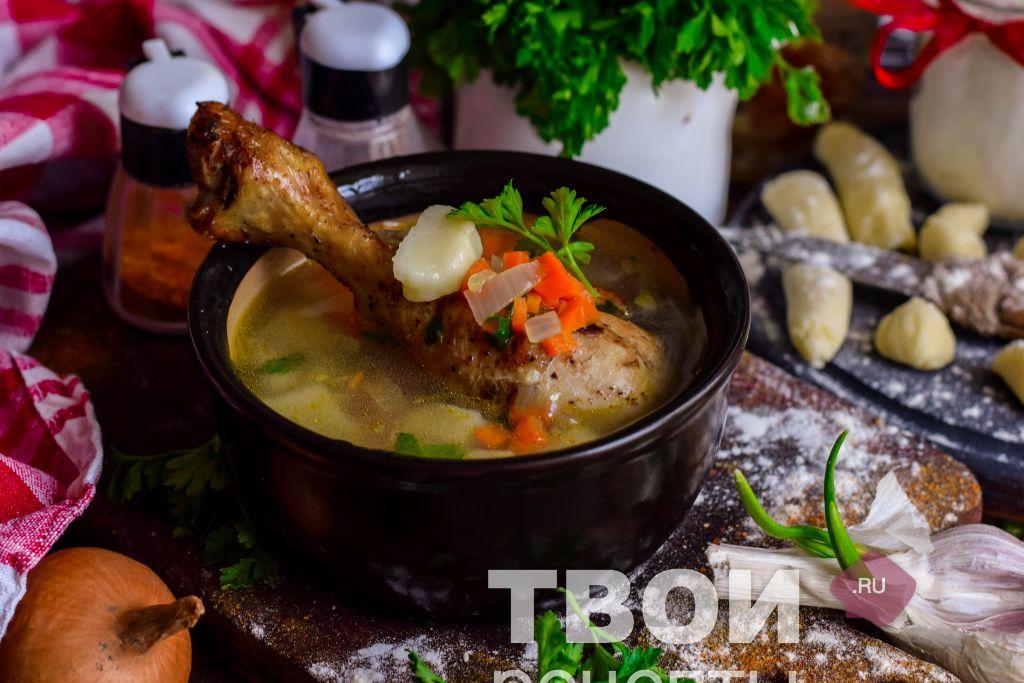 клецки для супа простой рецепт