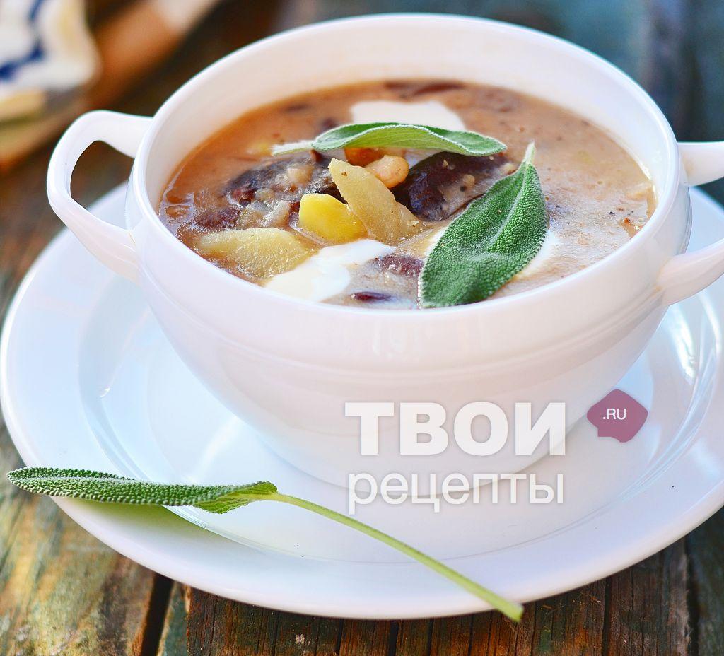 готовить суп из фасоли красной рецепты