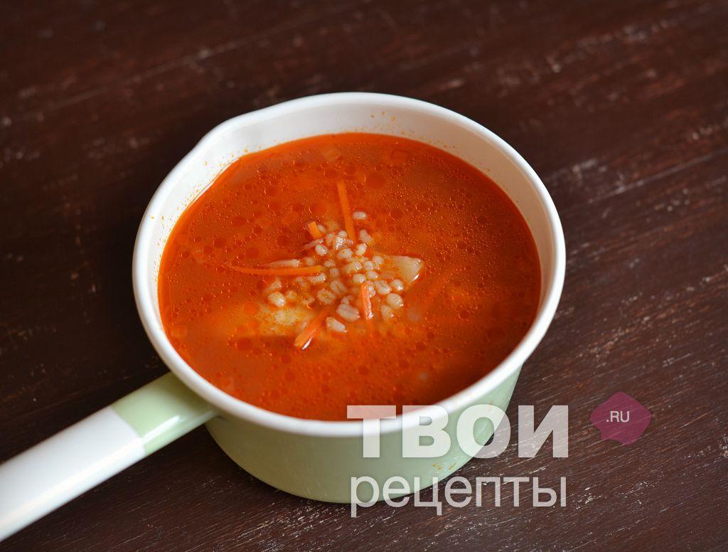 Суп из перловки рецепт с пошагово