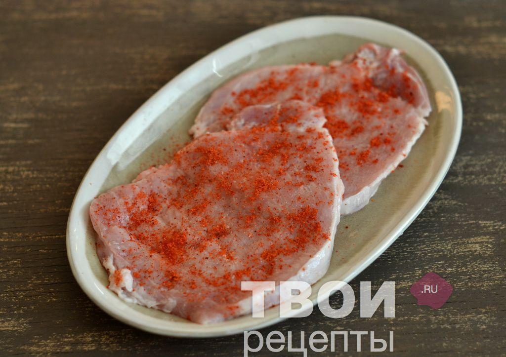 Рецепт вкусных отбивных из свинины в духовке