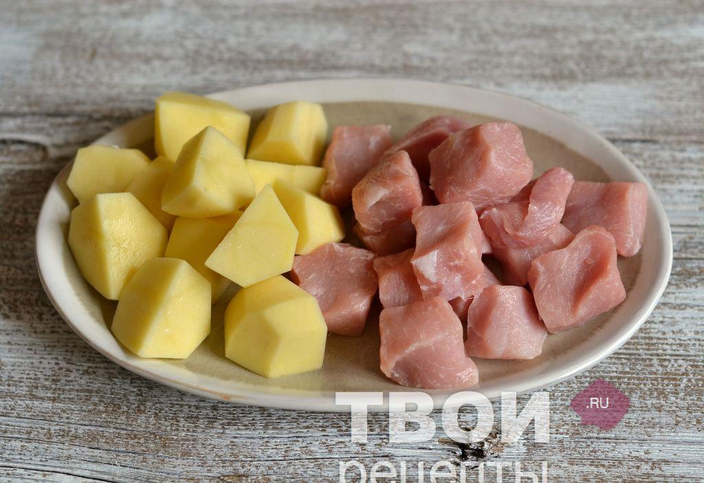 Блюда из картофеля в духовке пошаговый рецепт