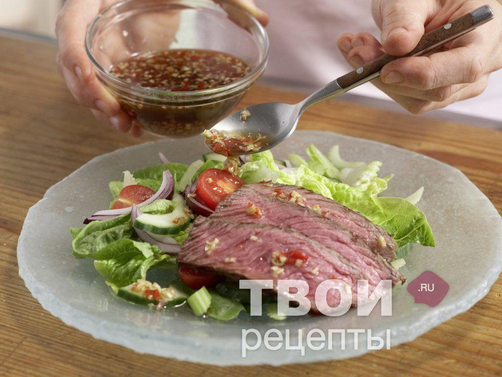Рецепты мясо по тайский пошагово