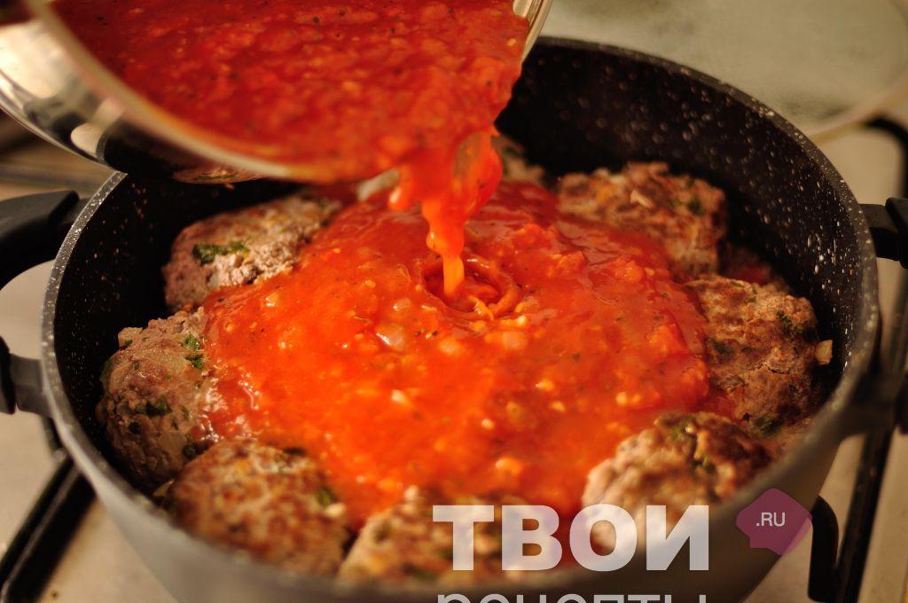 Рецепт как приготовить тефтели в соусе с