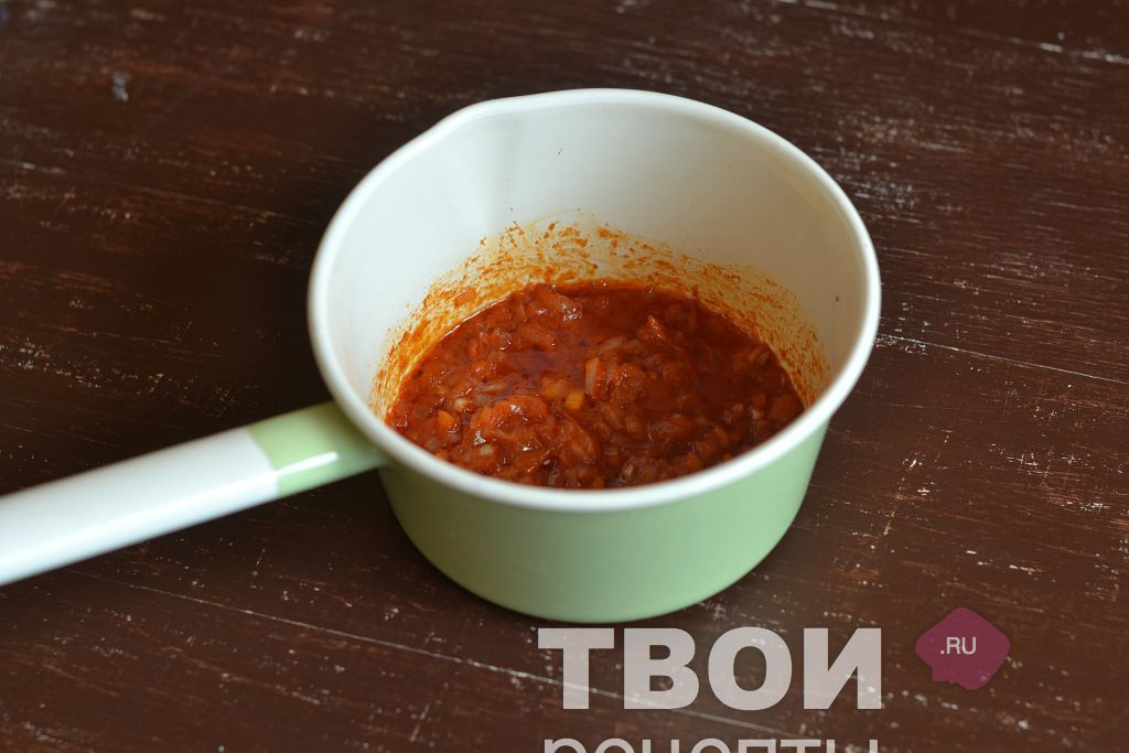 Как сделать сметанно томатный соус для тефтелей