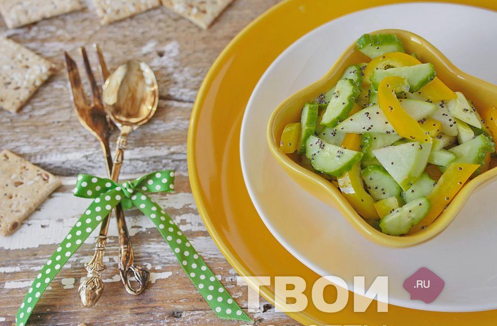 вкусные теплые салаты с фото