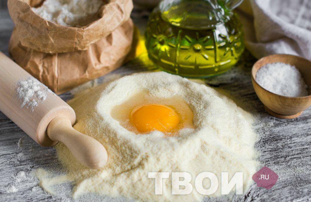 Тесто для пасты рецепт с фото