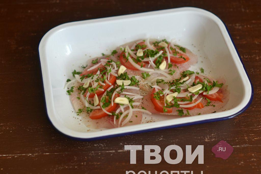 рецепт филе тилапии со сметаной в духовке
