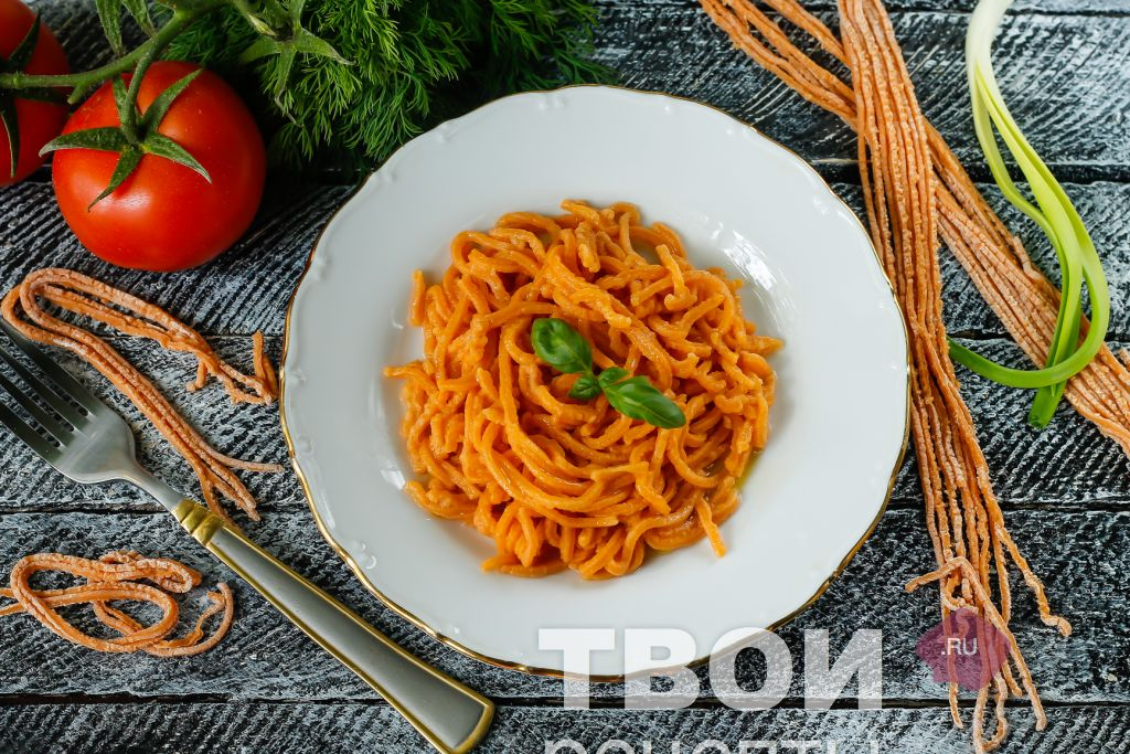 суп с спагетти рецепт с фото в домашних условиях